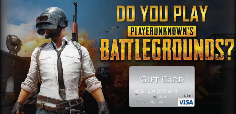 PSP - Play Battlegrounds and Win $250 VISA Gift Card